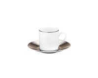 Dune Coffee Cup & Saucer, small