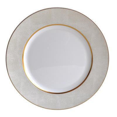 SAUVAGE BLANC RIM SOUP PLATE