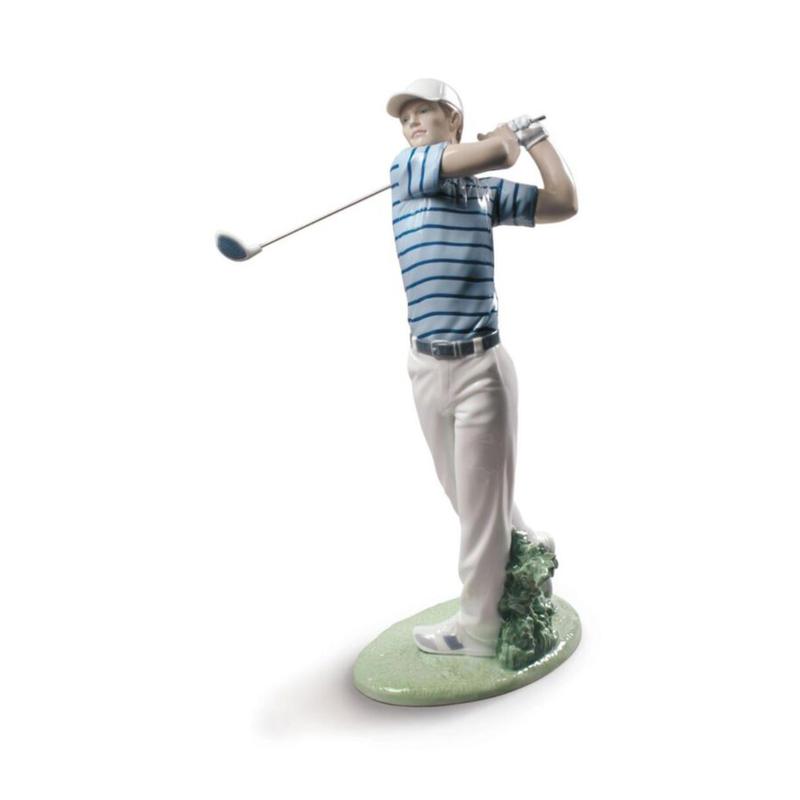 تمثال رجل الغولف, large