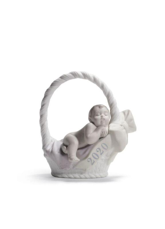 Born In 2020 Girl Figurine, large