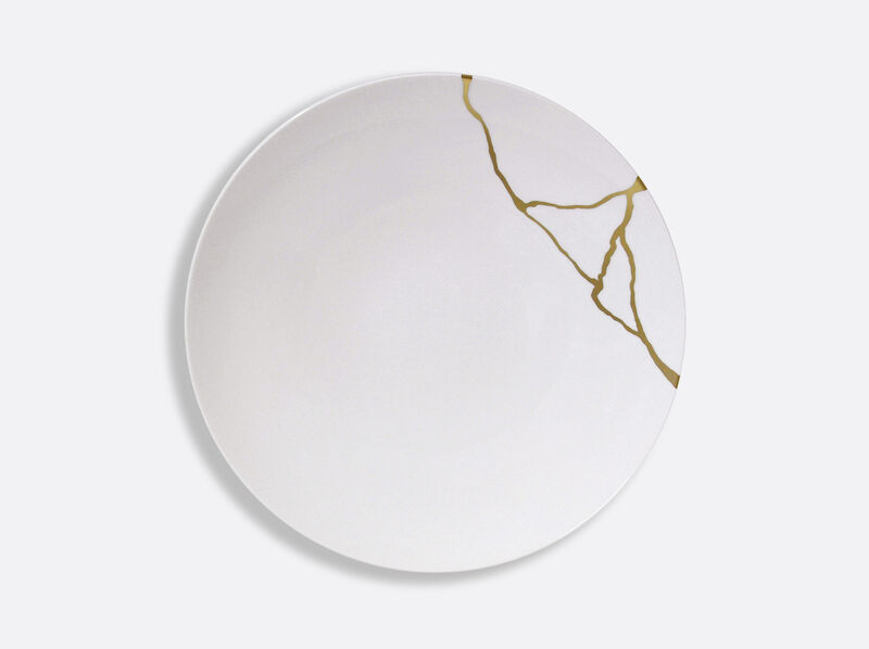 Kintsugi Coupe Dinner Plate, large