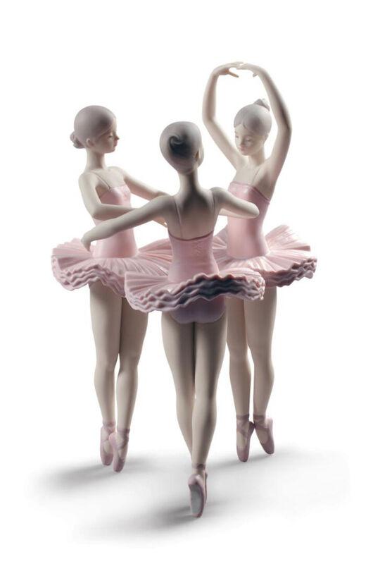 Our Ballet Pose Dancers Figurine, large