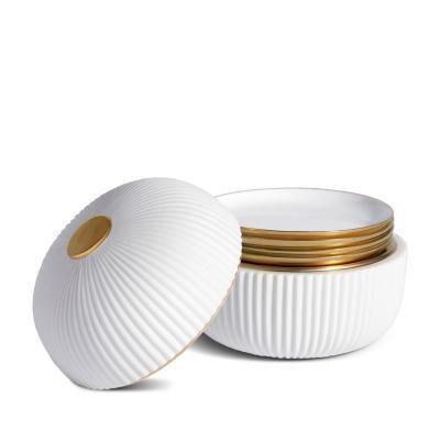 Ionic Box & Plates Set of 4