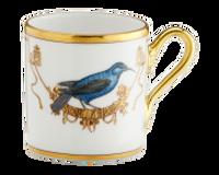 Espresso Cup Volière Grimpereau Bleu, small