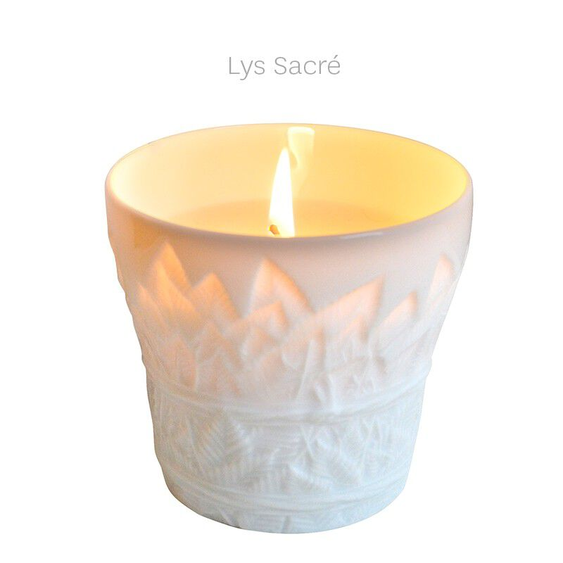 Candle Tumbler Sacred Lilly, large