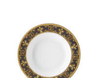 Versace Baroque Nero Deep Plate, small