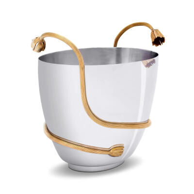 Deco Leaves Champagne Bucket