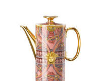 Versace Scala Palazzo Rosa Coffee Pot, small