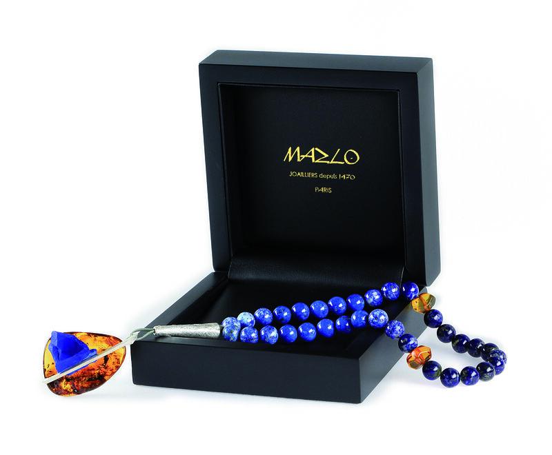 Masbaha Prestige Lapis-Lazuli With Box, large