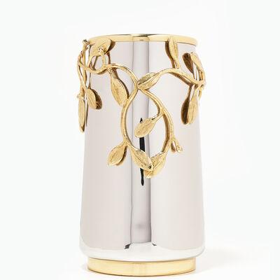 40th Ruby Laurel Vase