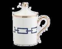 Mug With Cover Catene Zaffiro, small