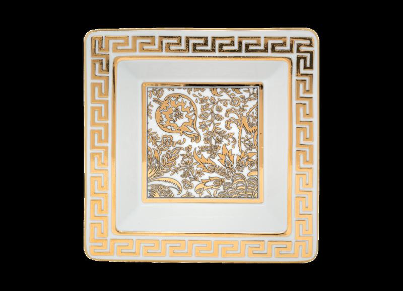 طبق زينة الذهب الرائع, large