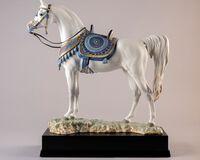 سلالة عربية نقية- تمثال حصان إصدار محدود, small