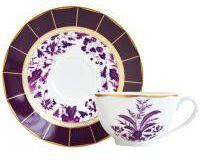 برونس كأس شاي و صحن, small