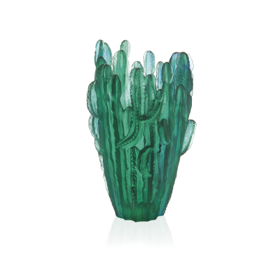 CACTUS LARGE GREEN VASE BY EMILIO ROBBA