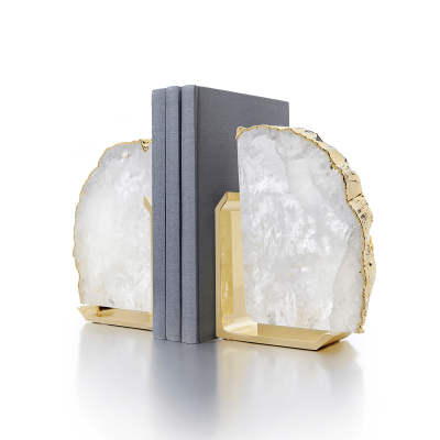 Crystal Fim Bookends