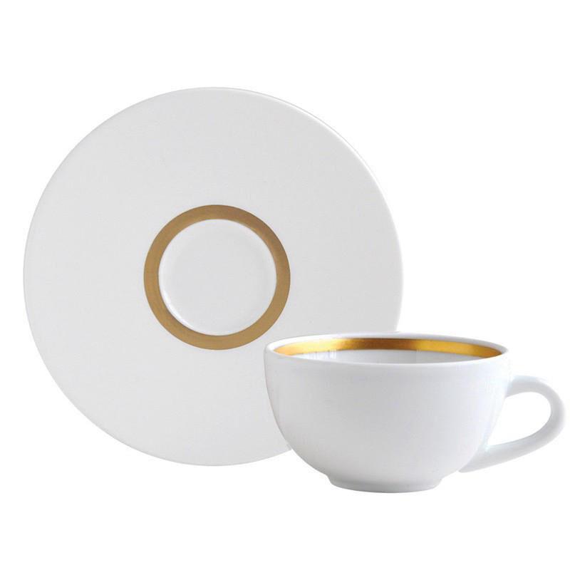 Cronos Or Tea Cup & Saucer, large