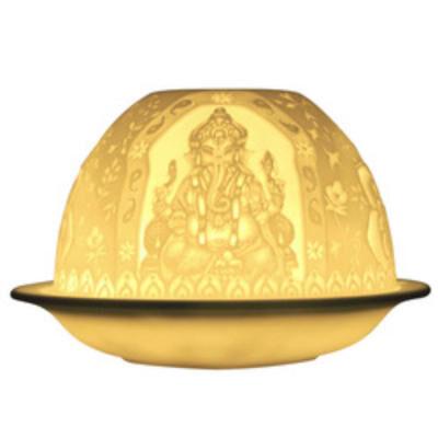 LITHOPHANIE. Ganesh