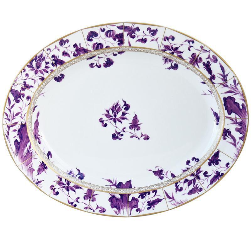 Prunus Oval Platter, large