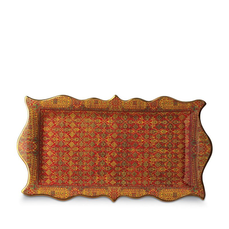 Tabriz Rectangular Platter, large