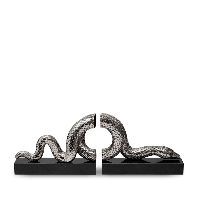 Snake Bookend - Set Of 2, large