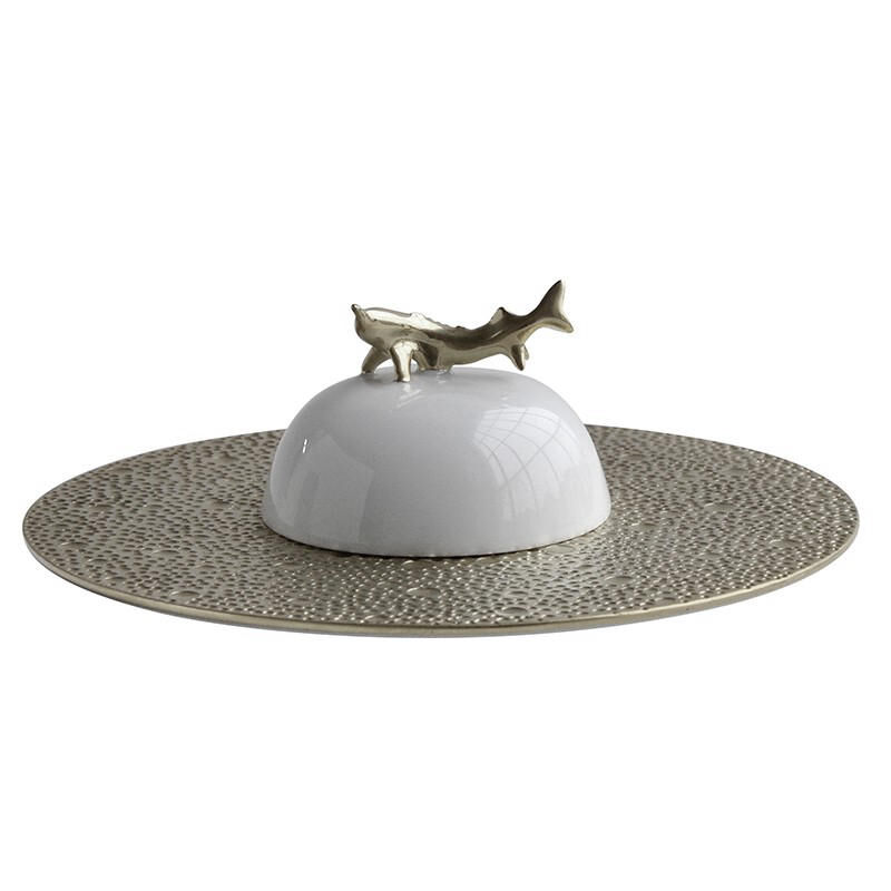 Ecume Silver Gift Set Caviar White And Silver, large