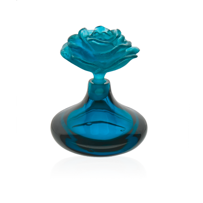 Blue Rose Romance Perfume Bottle