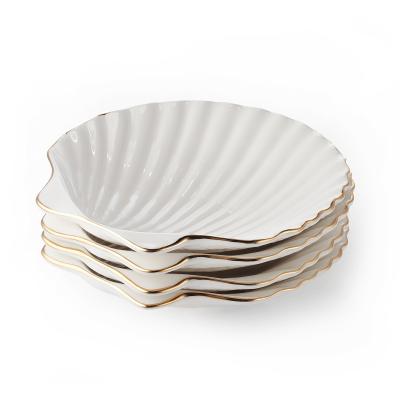 Shell Appetizer Plates Set