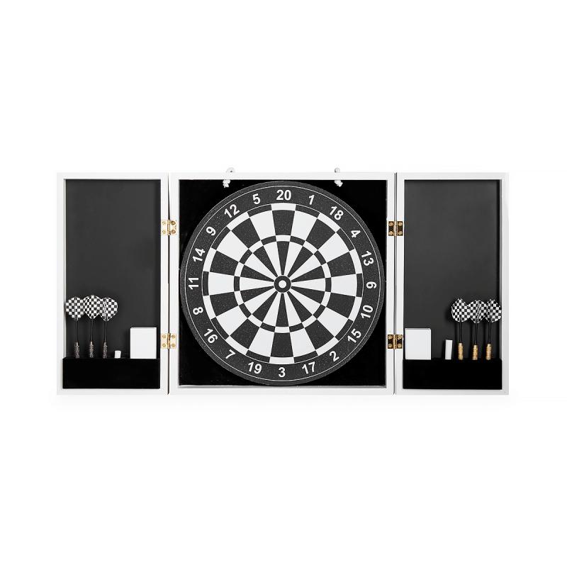 Op Art Dartboard Set, large