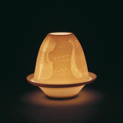 Lithophane Votive Light – Musical