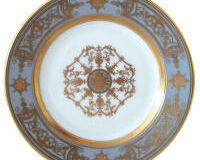 Aux Rois/Flanel B&B Plate, small