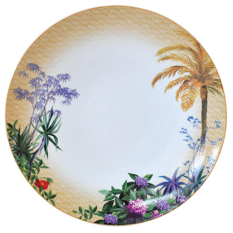 Tropiques Dinner Plate, large