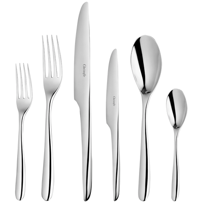 L'AME DE CHRISTOFLE  Flatware set for 12 people (75 pieces)