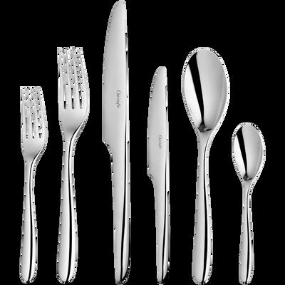 لامي دي كريستوفل طقم أدوات المائدة ل 12 فرد (75 قطعة)