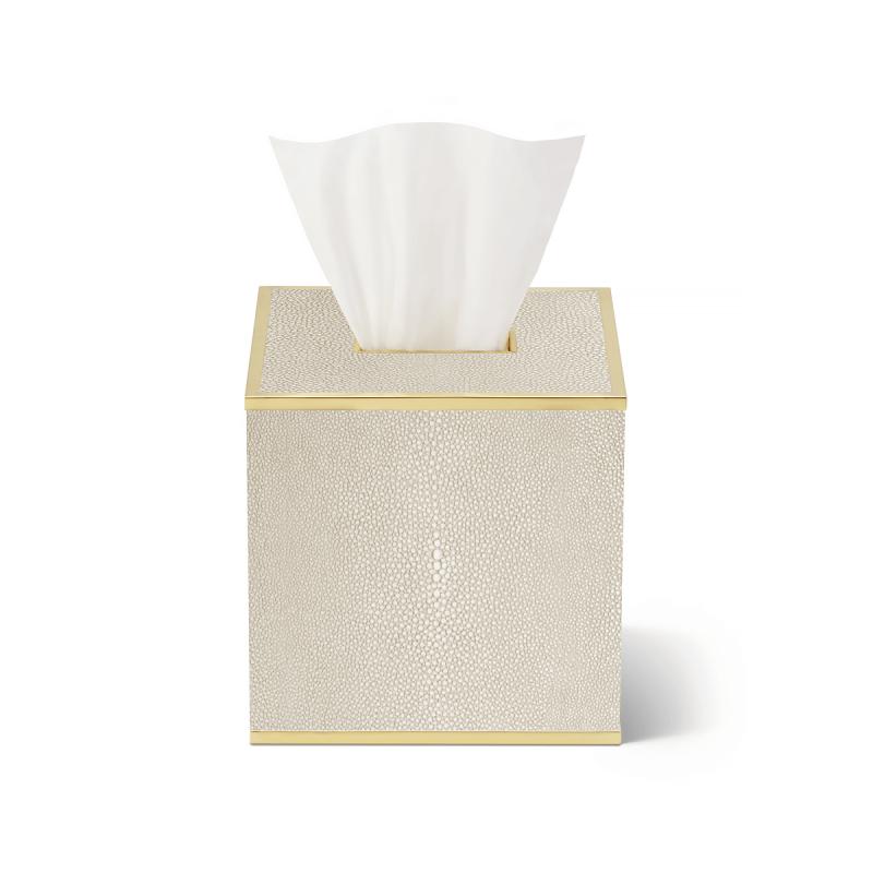 Shagreen Tissue Box, large