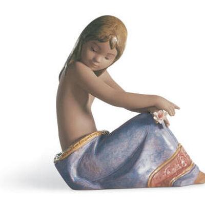 Island Beauty Girl Figurine