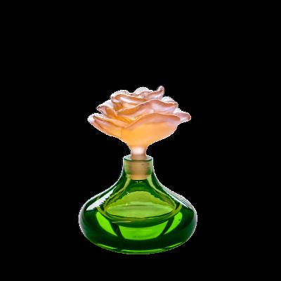 Green Rose Romance Perfume Bottle