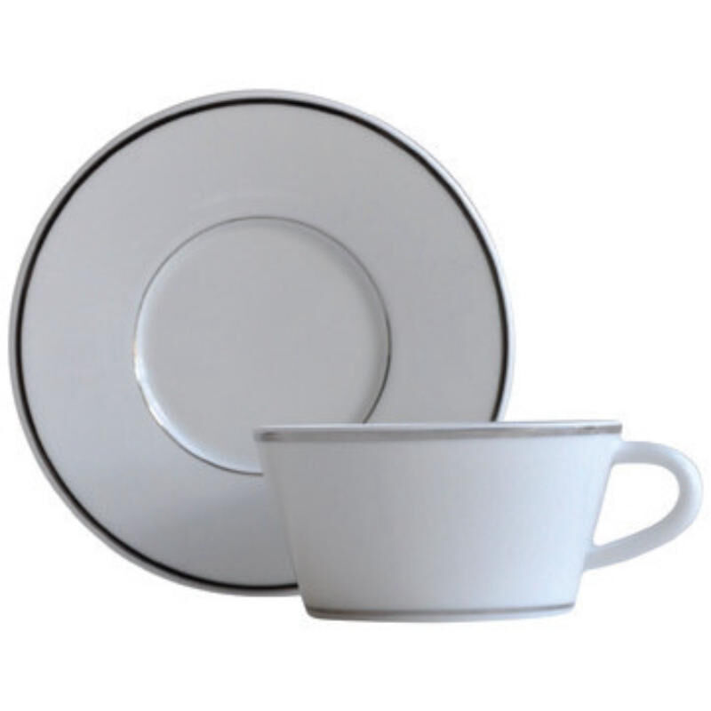 Argent Tea Cup And Saucer, large