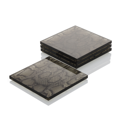 Leopard Accent Coasters