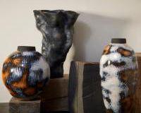 Terra Vase- Short, small