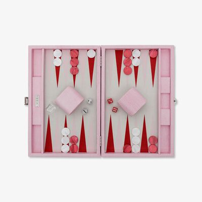 Pink Lizard Medium Backgammon Set