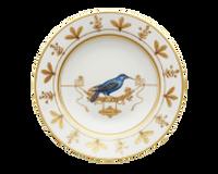Soup Plate Volière Grimpereau Bleu, small