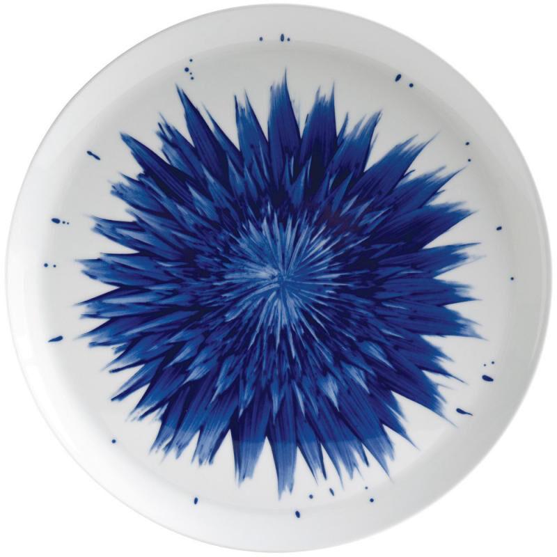 In Bloom Round Tart Platter, large