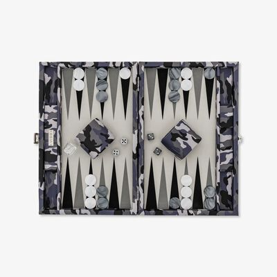 Camouflage Medium Backgammon Set