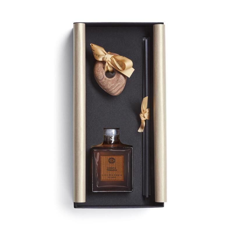 Habana Tobacco Sculpted Stone Lid Diffuser Limited Edition, large