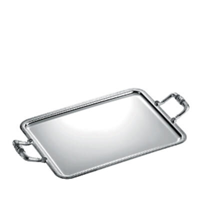 Malmaison Rectangular Serving Tray With Handles