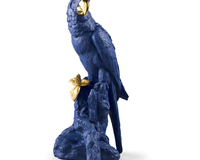 Macaw Bird Sculpture. Limited Edition, small