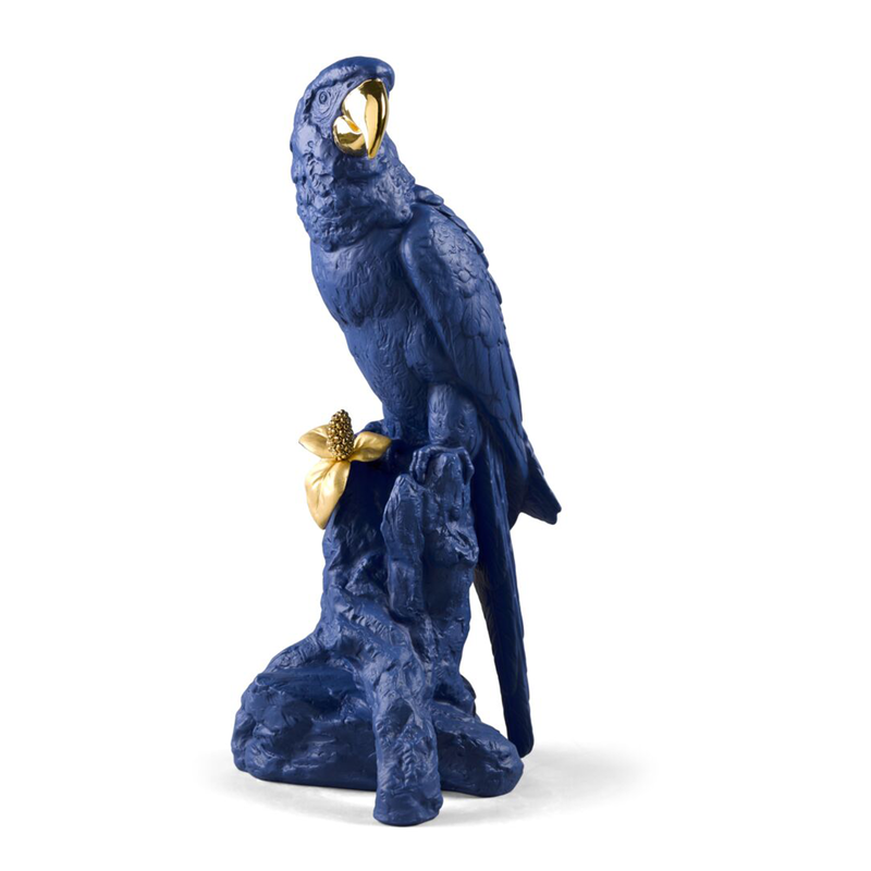 Macaw Bird Sculpture. Limited Edition, large