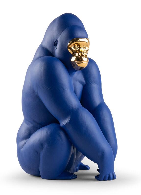 Gorilla (Blue-Gold), large