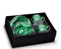 علبة شاي مالاكيت وصندوق هدايا من 2, small